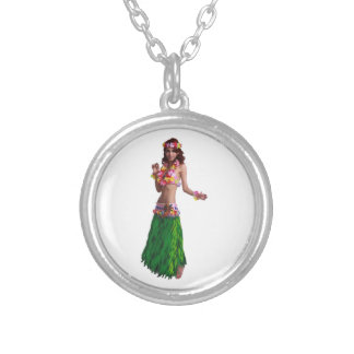 AS SHE MOVES SILVER PLATED NECKLACE
