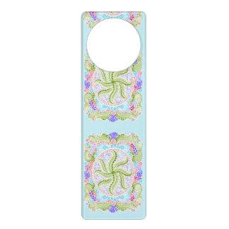 As Spring blooms , Kawaii, spring, flowers Door Hanger