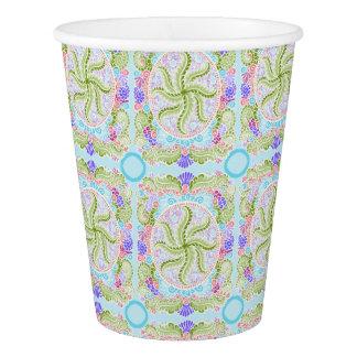 As Spring blooms , Kawaii, spring, flowers Paper Cup