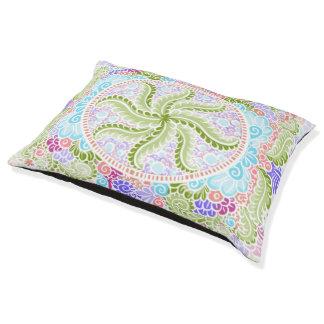 As Spring blooms , Kawaii, spring, flowers Pet Bed