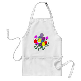 AS- Spring Floral Bouquet Apron