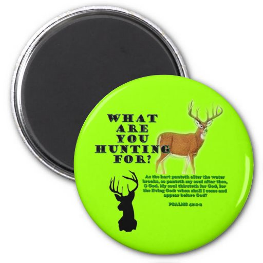 As the Deer Refrigerator Magnets
