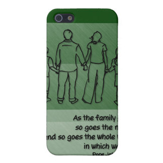 As the family goes ... Pope John Paul II Cover For iPhone 5/5S