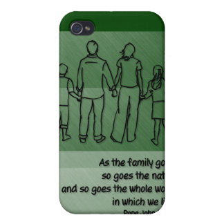 As the family goes ... Pope John Paul II iPhone 4 Case