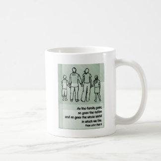 As the family goes ... Pope John Paul II Mugs