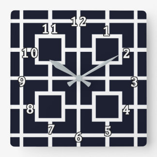 As Time Goes By SPNL S8-E13 Square Wall Clock