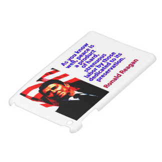 As You Know Well - Ronald Reagan iPad Mini Covers