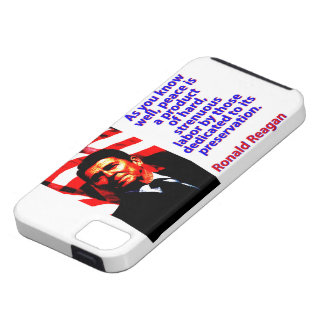 As You Know Well - Ronald Reagan iPhone 5 Cover