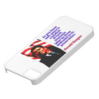 As You Know Well - Ronald Reagan iPhone 5 Covers