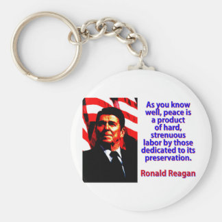 As You Know Well - Ronald Reagan Key Ring