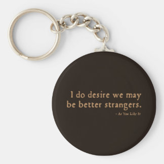 As You Like It Insult (16thC version) Key Ring