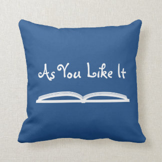 As You Like It Shakespeare Quote Cushion