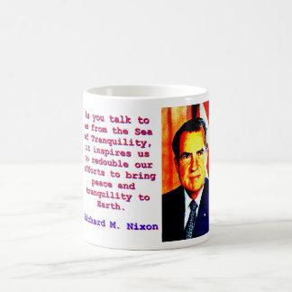 As You Talk To Us - Richard Nixon Coffee Mug