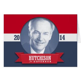 Asa Hutchinson Campaign Cards