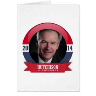 Asa Hutchinson Campaign Greeting Card