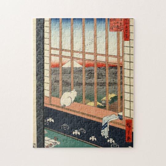 Asakusa Ricefields and Torinomachi Festival. Jigsaw Puzzle