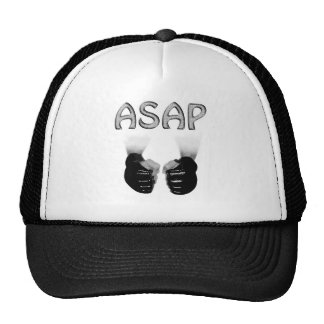 Asap Black MMA GLOVES Trucker Hats