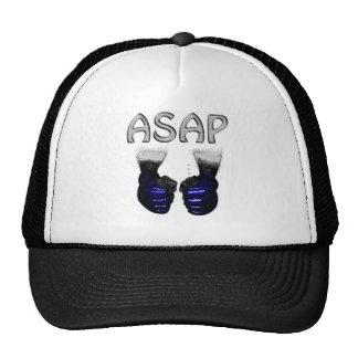 ASAP MMA Blue shoking Gloves Hats