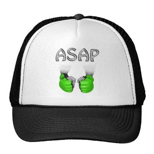 ASAP MMA Gloves green Mesh Hat