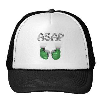 ASAP MMA Gloves green Trucker Hats