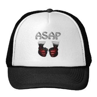 ASAP MMA red shoking Gloves Trucker Hat