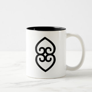 ASASE YE DURU | Providence and the Divinity Earth Two-Tone Coffee Mug