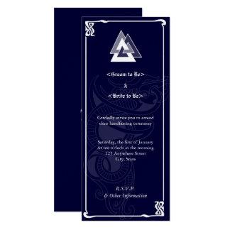 Asatru Handfasting Card