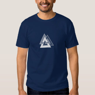 Asatru Valknut T Shirt