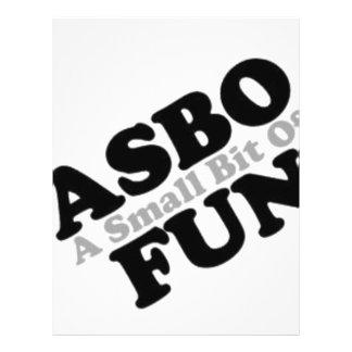 ASBO Fun Full Color Flyer