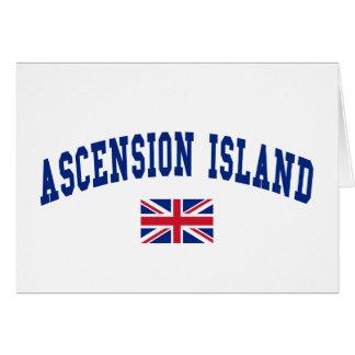 ASCENSION ISLAND GREETING CARD