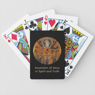 Ascension of Christ in Truth and Love Poker Deck