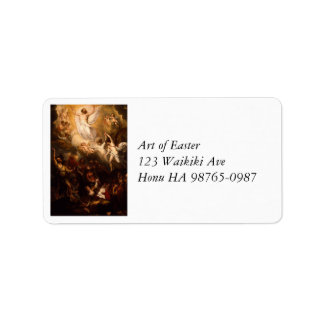 Ascension of Christ with Angels Address Label
