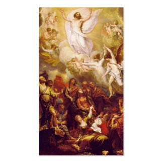 Ascension of Christ with Angels Pack Of Standard Business Cards