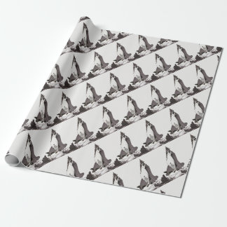 Ascension of St Rose of Lima Wrapping Paper