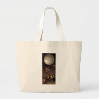 Ascent of the Blessed, by Hieronymus Bosch Large Tote Bag