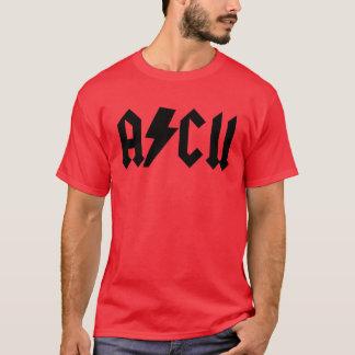 ASCII AC/DC shirt