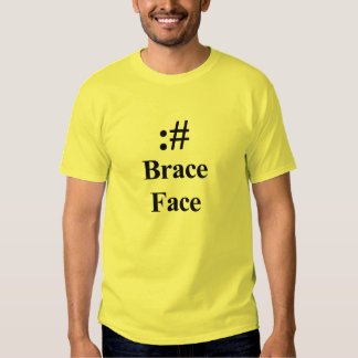 ASCII Brace Face Tshirt