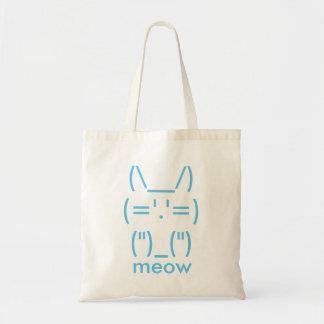 ASCII Cat Tote Bag