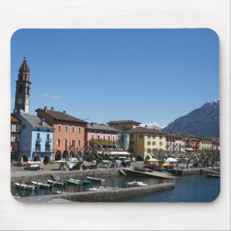 Ascona Switzerland Mouse Pad