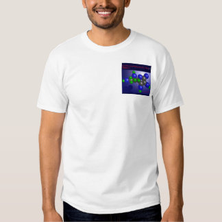 Ascorbic Acid Molecule (pocket) T-shirt