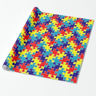 ASD Aspergers Autism Awareness Puzzle Pattern