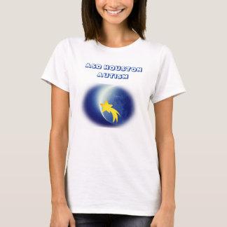 ASD Houston Autism Shirts Womens (white)