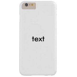 asdasdaaaaaa barely there iPhone 6 plus case