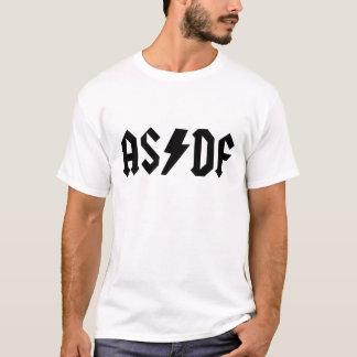 asdf a s d f t-shirt white