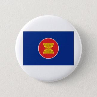 ASEAN Flag 6 Cm Round Badge