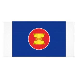 ASEAN Flag Photo Card Template