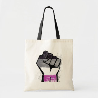 ASEXUAL FIST TOTE BAG