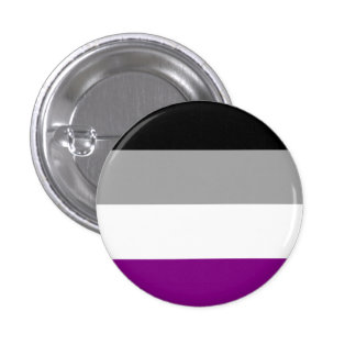 Asexual Flag Button
