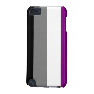 Asexual flag iPod speck case