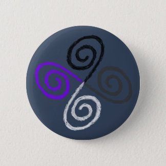Asexual Pride 6 Cm Round Badge